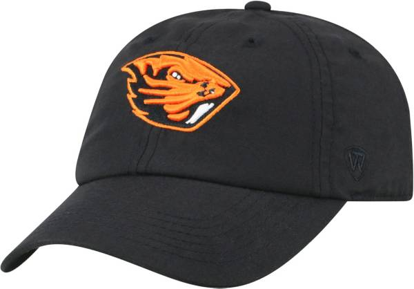 Top of the World Men's Oregon State Beavers Staple Adjustable Black Hat product image