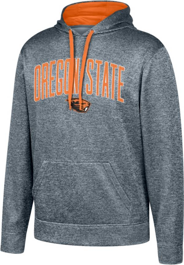Top of the World Men's Oregon State Beavers Grey Foundation Poly Hoodie product image