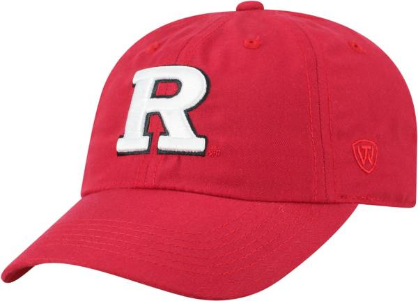 Top of the World Men's Rutgers Scarlet Knights Scarlet Staple Adjustable Hat product image