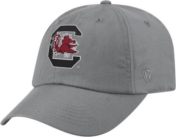 Top of the World Men's South Carolina Gamecocks Grey Staple Adjustable Hat product image