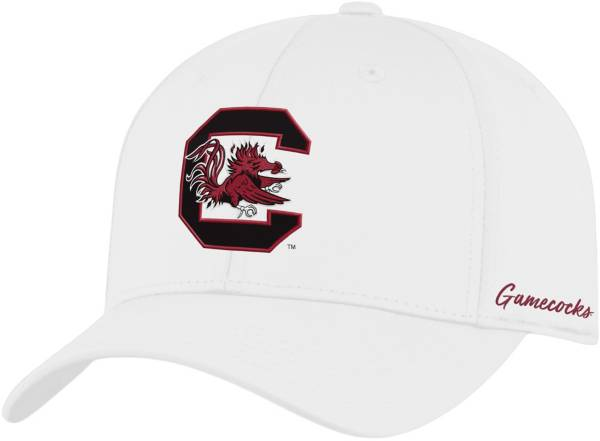 Top of the World Men's South Carolina Gamecocks Phenom 1Fit Flex White Hat product image