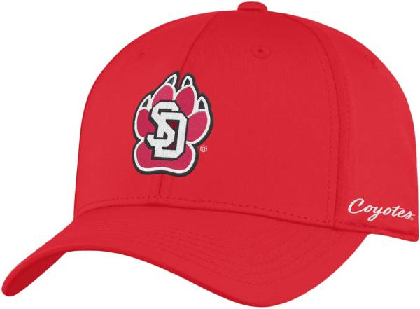 Top of the World Men's South Dakota Coyotes Red Phenom 1Fit Flex Hat product image