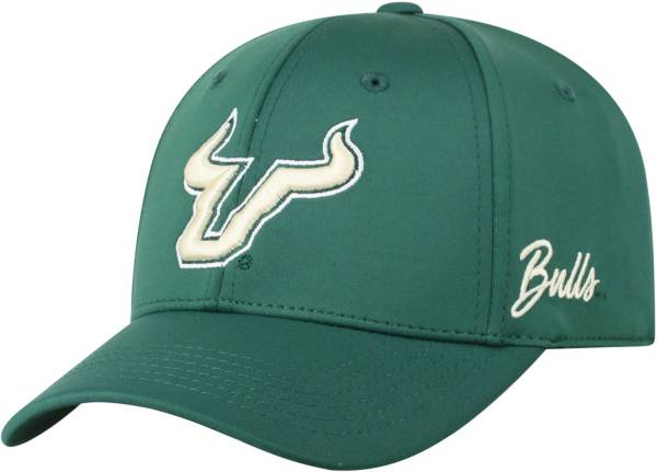 Top of the World Men's South Florida Bulls Green Phenom 1Fit Flex Hat product image