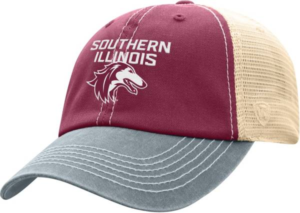Top of the World Men's Southern Illinois  Salukis Maroon/White Off Road Adjustable Hat product image