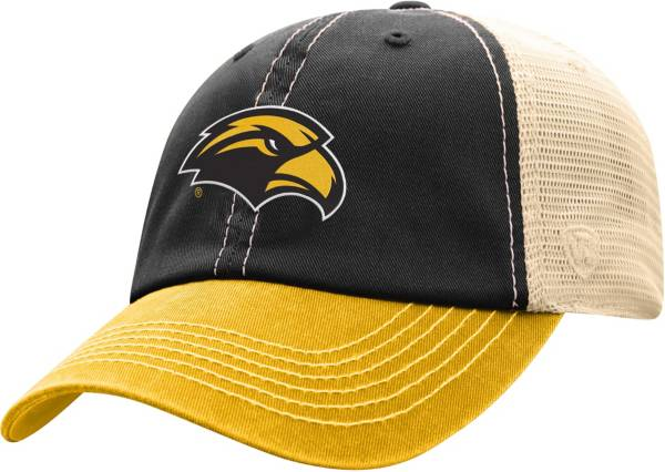 Top of the World Men's Southern Miss Golden Eagles Black/White Off Road Adjustable Hat product image