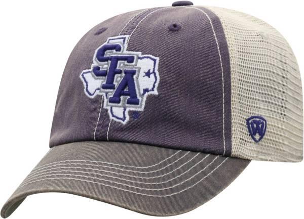 Top of the World Men's Stephen F. Austin Lumberjacks Purple/White Off Road Adjustable Hat product image