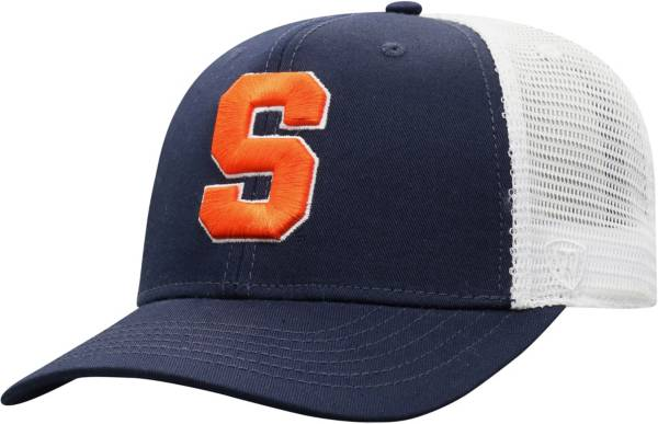Top of the World Men's Syracuse Orange Blue/White Trucker Adjustable Hat product image