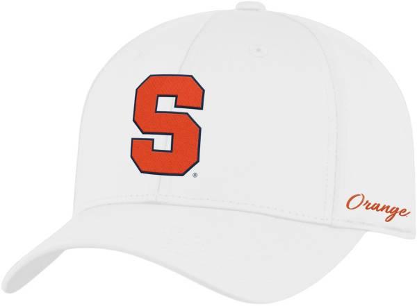 Top of the World Men's Syracuse Orange Phenom 1Fit Flex White Hat product image