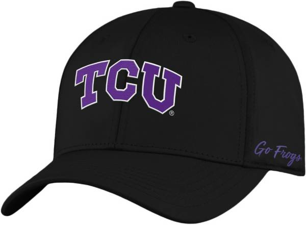 Top of the World Men's TCU Horned Frogs Phenom 1Fit Flex Black Hat product image
