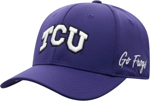 Top of the World Men's TCU Horned Frogs Purple Phenom 1Fit Flex Hat product image