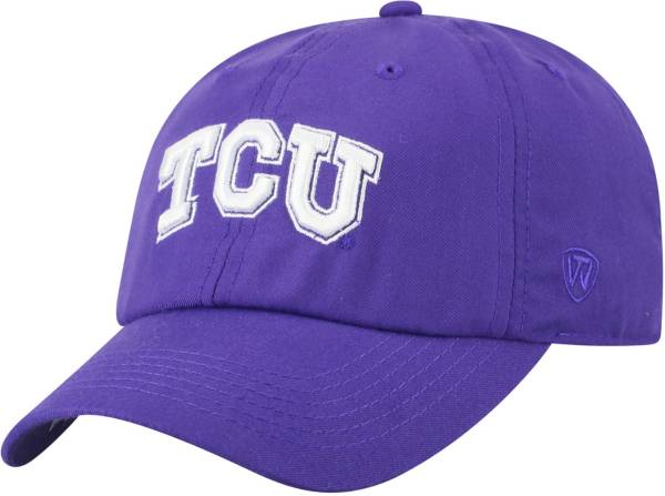 Top of the World Men's TCU Horned Frogs Purple Staple Adjustable Hat product image