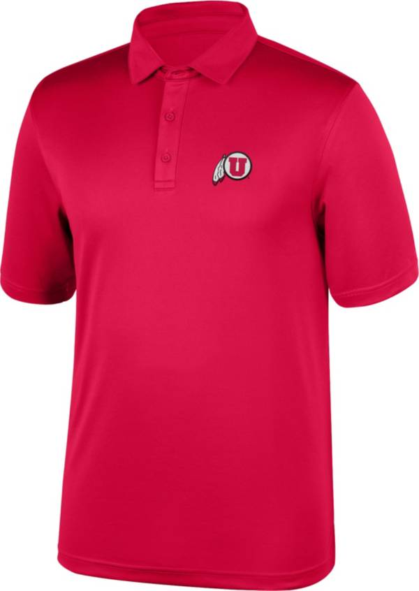 Top of the World Men's Utah Utes Crimson Polo product image