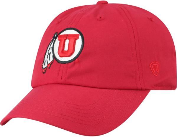 Top of the World Men's Utah Utes Crimson Staple Adjustable Hat product image