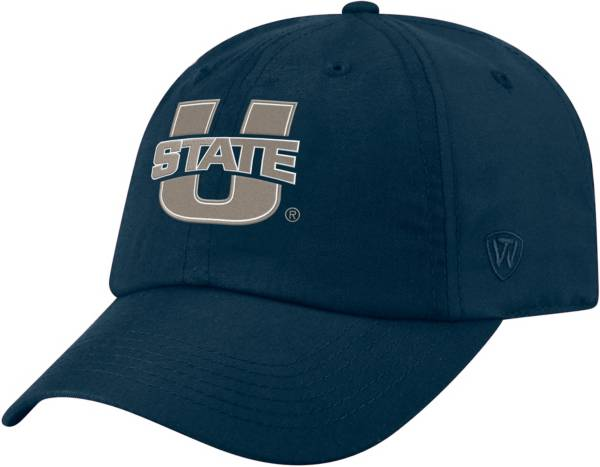 Top of the World Men's Utah State Aggies Blue Staple Adjustable Hat product image