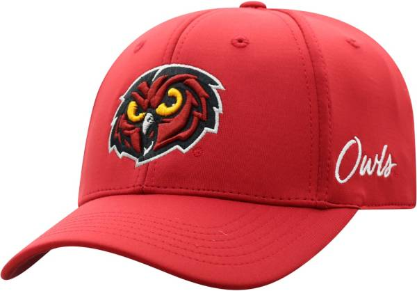 Top of the World Men's Temple Owls Cherry Phenom 1Fit Flex Hat product image