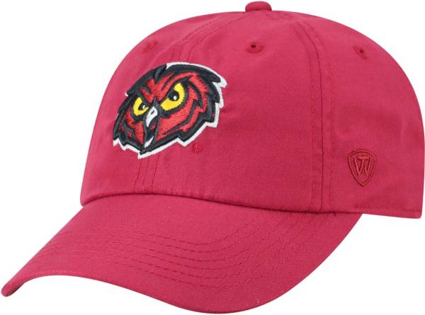 Top of the World Men's Temple Owls Cherry Staple Adjustable Hat product image