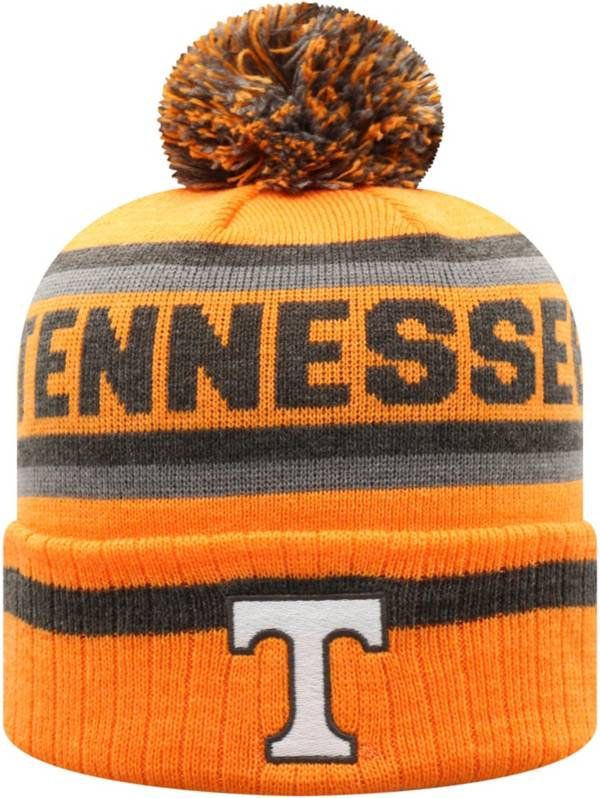 Top of the World Men's Tennessee Volunteers Tennessee Orange Buddy Cuffed Pom Knit Beanie product image
