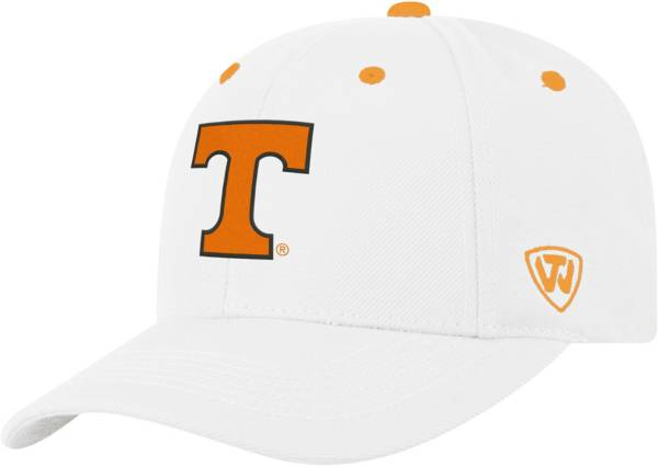 Top of the World Men's Tennessee Volunteers Triple Threat Adjustable White Hat product image