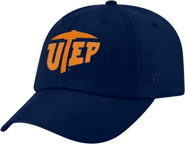 Top of the World Men's UTEP Miners Navy Staple Adjustable Hat product image