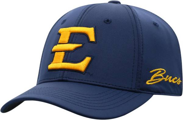 Top of the World Men's East Tennessee State Buccaneers Navy Phenom 1Fit Flex Hat product image