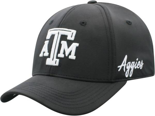 Top of the World Men's Texas A&M Aggies Phenom 1Fit Flex Black Hat product image