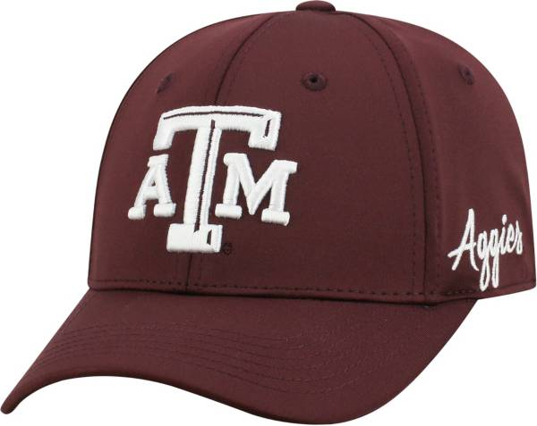 Top of the World Men's Texas A&M Aggies Maroon Phenom 1Fit Flex Hat product image