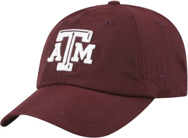 Top of the World Men's Texas A&M Aggies Maroon Staple Adjustable Hat product image