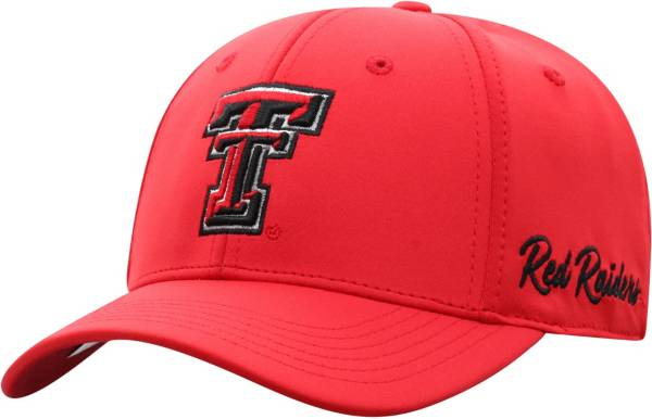 Top of the World Men's Texas Tech Red Raiders Red Phenom 1Fit Flex Hat product image