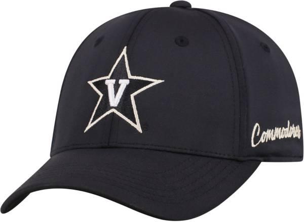 Top of the World Men's Vanderbilt Commodores Phenom 1Fit Flex Black Hat product image