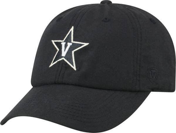 Top of the World Men's Vanderbilt Commodores Staple Adjustable Black Hat product image