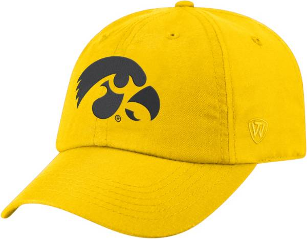 Top of the World Men's Iowa Hawkeyes Gold Staple Adjustable Hat product image