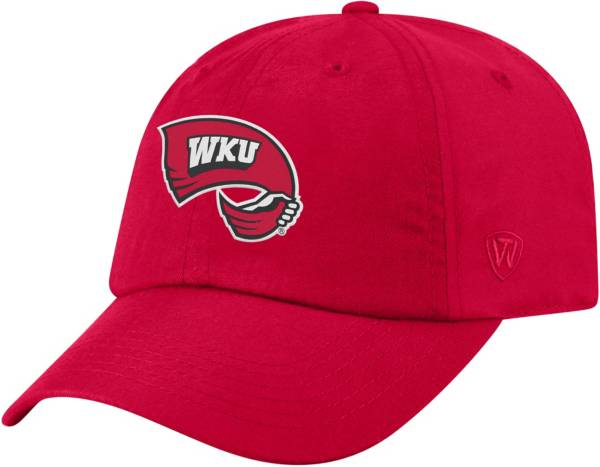 Top of the World Men's Western Kentucky Hilltoppers Red Staple Adjustable Hat product image