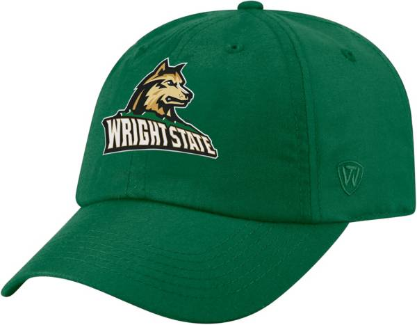 Top of the World Men's Wright State Raiders Green Staple Adjustable Hat product image