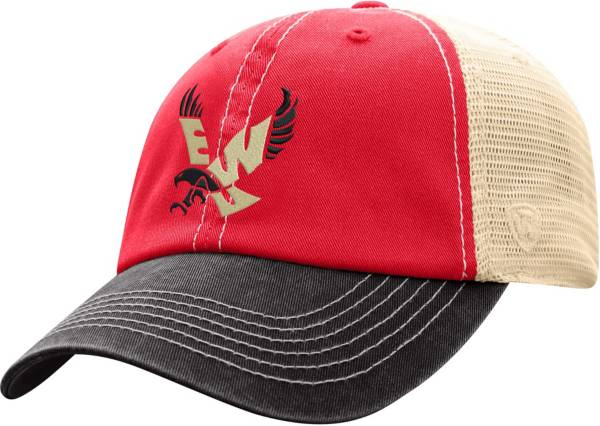 Top of the World Men's Eastern Washington Eagles Red/White Off Road Adjustable Hat product image