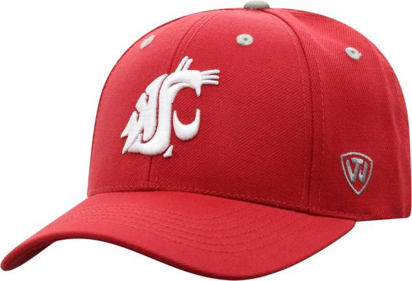 Top of the World Men's Washington State Cougars Crimson Triple Threat Adjustable Hat product image