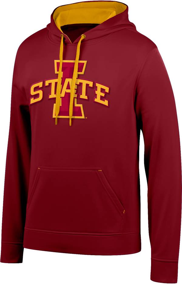 Top of the World Men's Iowa State Cyclones Cardinal Foundation Poly Hoodie product image