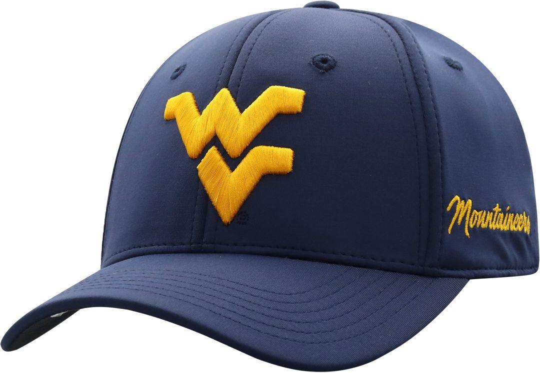 sports shoes aa2c7 17416 ... West Virginia Mountaineers Blue Phenom 1Fit Flex Hat. noImageFound. 1