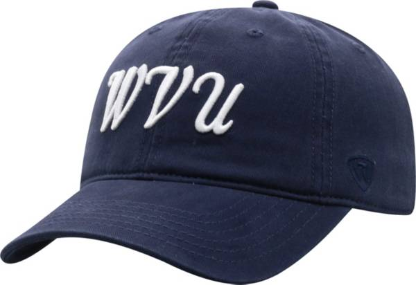 Top of the World Women's West Virginia Mountaineers Blue Zoey Adjustable Hat product image