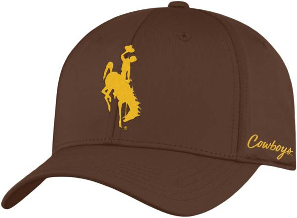 Top of the World Men's Wyoming Cowboys Brown Phenom 1Fit Flex Hat product image