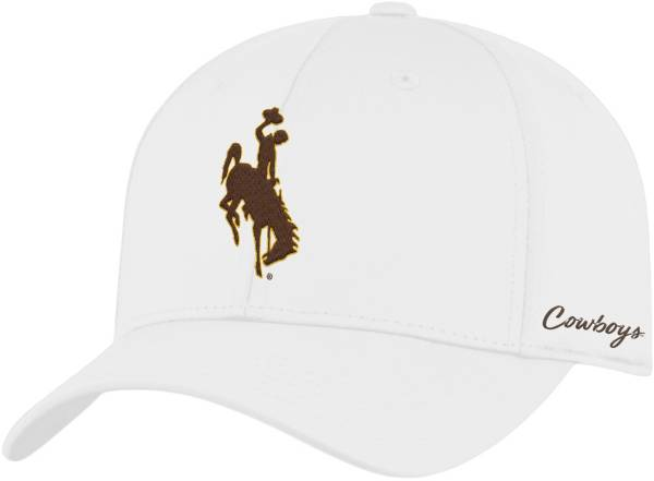 Top of the World Men's Wyoming Cowboys Phenom 1Fit Flex White Hat product image