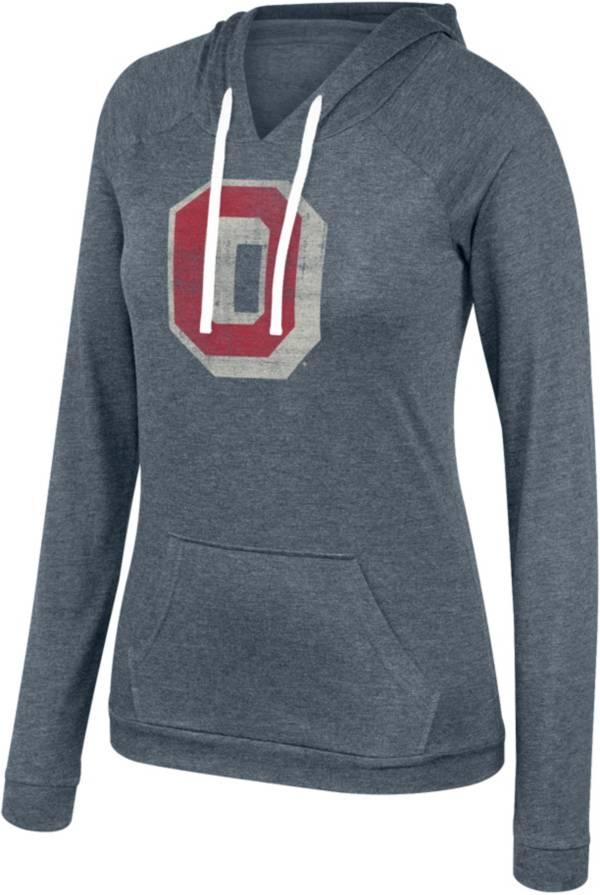 Scarlet & Gray Women's Ohio State Buckeyes Gray Wildcard Hoodie product image