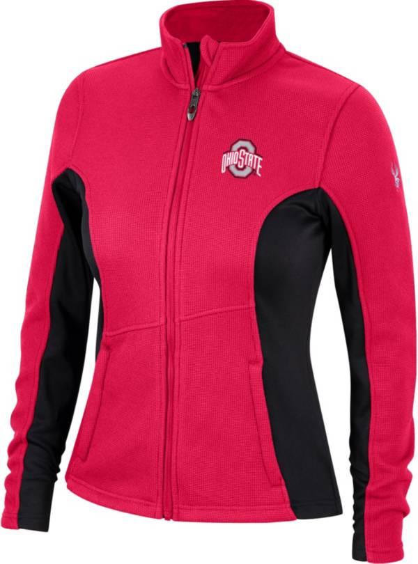 Spyder Women's Ohio State Buckeyes Scarlet Constant Full-Zip Fleece Jacket product image