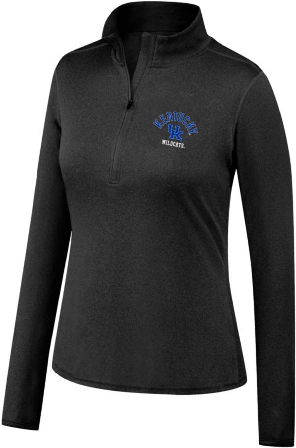 Top of the World Women's Kentucky Wildcats Quarter-Zip Black Shirt product image