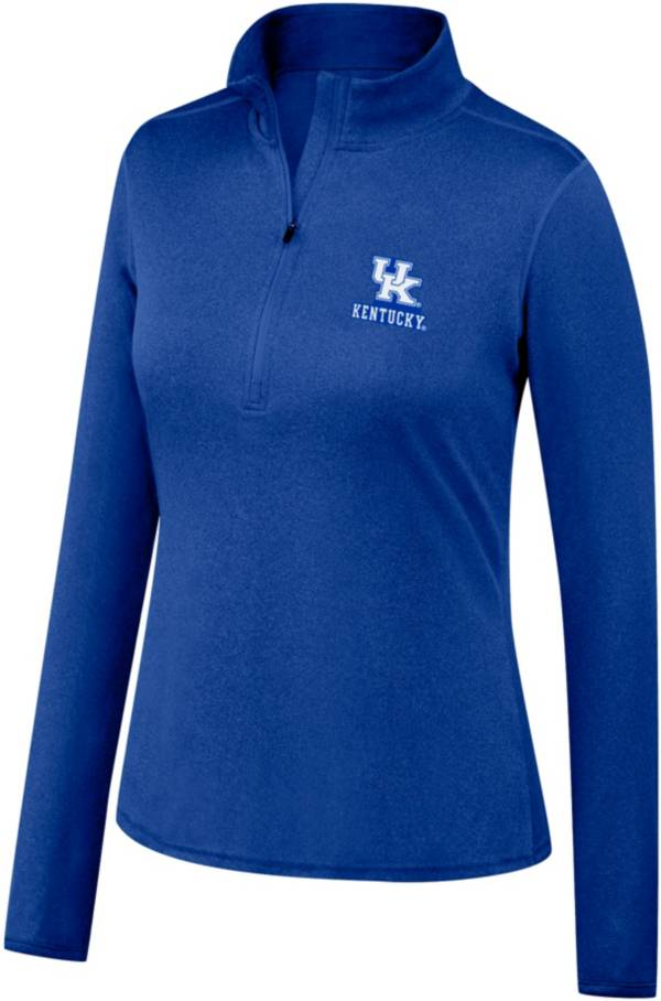 Top of the World Women's Kentucky Wildcats Blue Quarter-Zip Shirt product image
