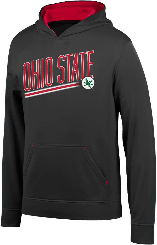 Scarlet & Gray Youth Ohio State Buckeyes Foundation Black Hoodie product image