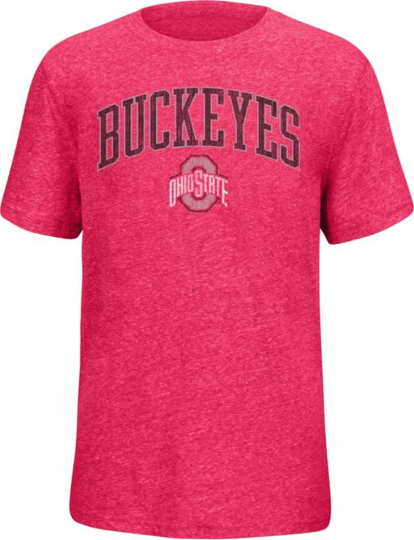 Scarlet & Gray Youth Ohio State Buckeyes Scarlet Staple T-Shirt product image
