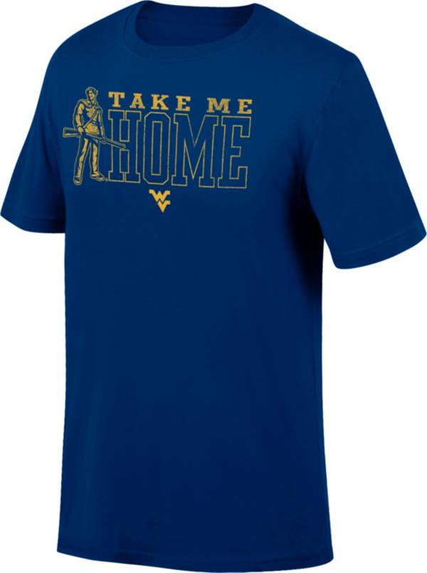 Top of the World Youth West Virginia Mountaineers Blue Fan T-Shirt product image