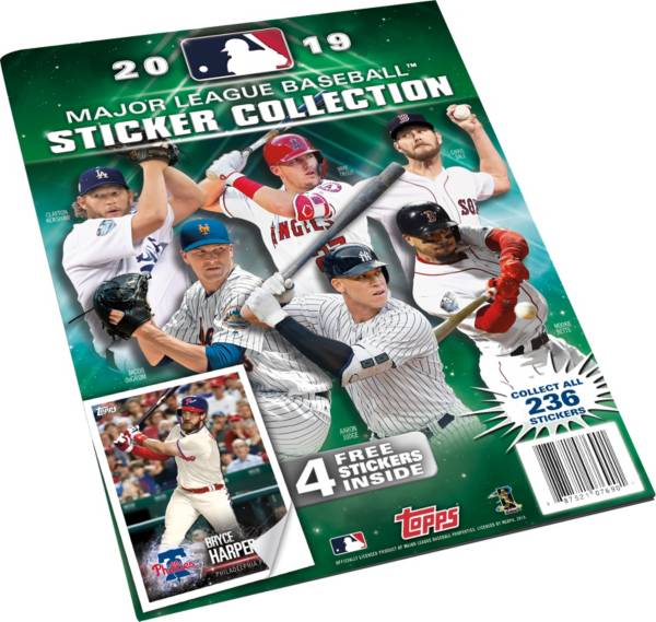 Topps MLB League 2019 Sticker Collection Album product image