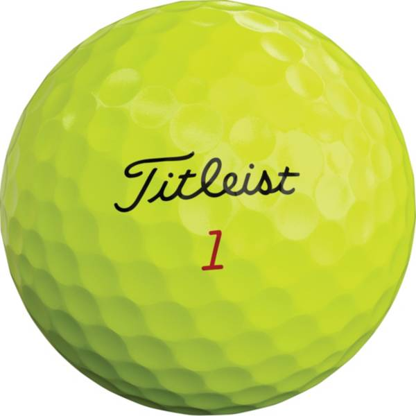 Titleist 2019 Pro V1x Optic Yellow Personalized Golf Balls product image
