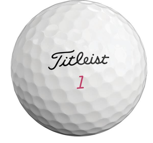 Titleist 2019 Pro V1 Pink Number Personalized Golf Balls product image